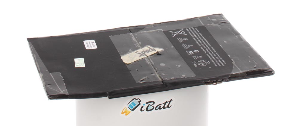 Аккумуляторная батарея для ноутбука Apple iPad Air 64Gb Wi-Fi + Cellular. Артикул iB-A914.Емкость (mAh): 8820. Напряжение (V): 3,73