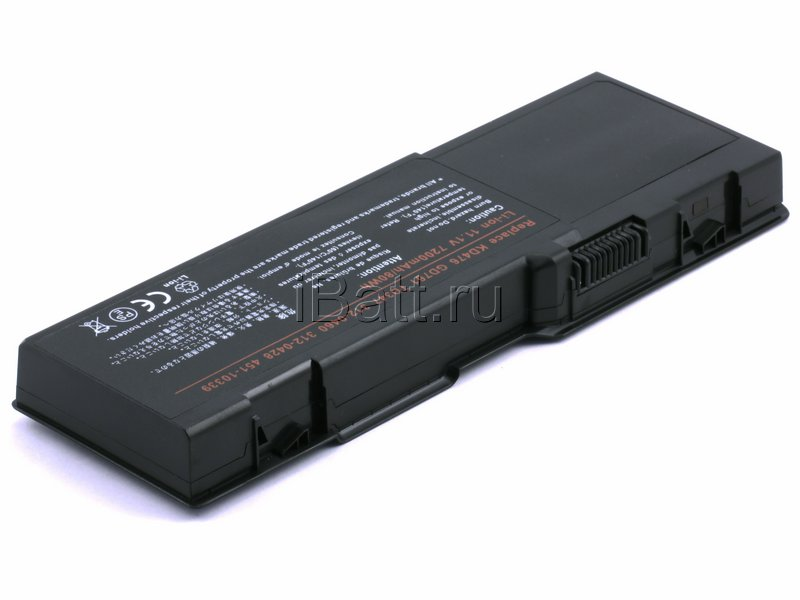 Аккумуляторная батарея PD942 для ноутбуков Dell. Артикул 11-1244.Емкость (mAh): 6600. Напряжение (V): 11,1