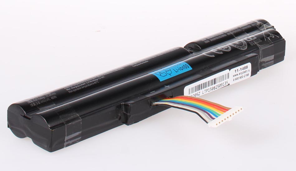 Аккумуляторная батарея для ноутбука Gateway ID57H19a. Артикул 11-1488.Емкость (mAh): 4400. Напряжение (V): 11,1