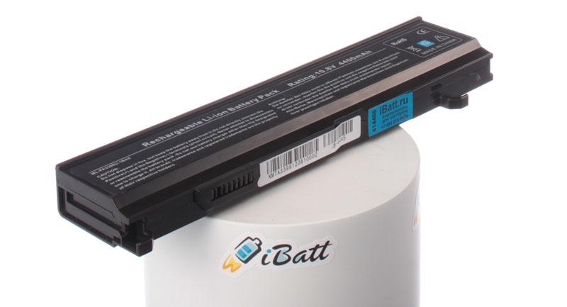 Аккумуляторная батарея PA3478U для ноутбуков Toshiba. Артикул iB-A445.Емкость (mAh): 4400. Напряжение (V): 10,8