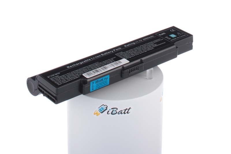 Аккумуляторная батарея iBatt iB-A415 для ноутбука SonyЕмкость (mAh): 6600. Напряжение (V): 11,1