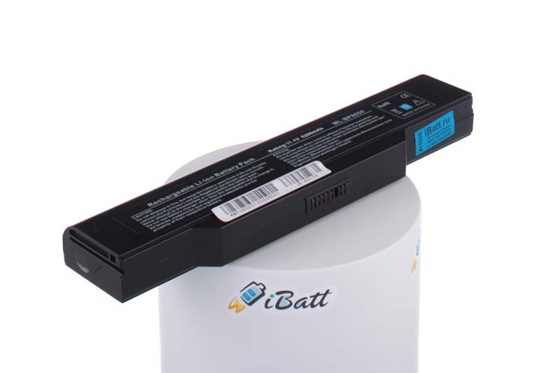 Аккумуляторная батарея 441681730001 для ноутбуков Rover book. Артикул iB-A517H.Емкость (mAh): 5200. Напряжение (V): 11,1