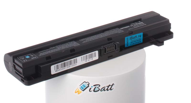 Аккумуляторная батарея для ноутбука Acer Ferrari 1000-5612. Артикул iB-A116.Емкость (mAh): 4400. Напряжение (V): 11,1