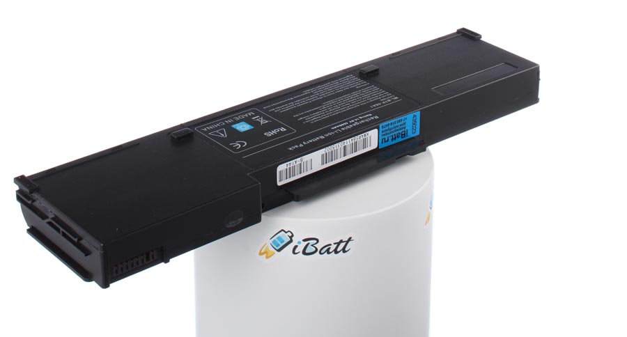 Аккумуляторная батарея BTP-58A1 для ноутбуков Acer. Артикул iB-A144.Емкость (mAh): 6600. Напряжение (V): 14,8