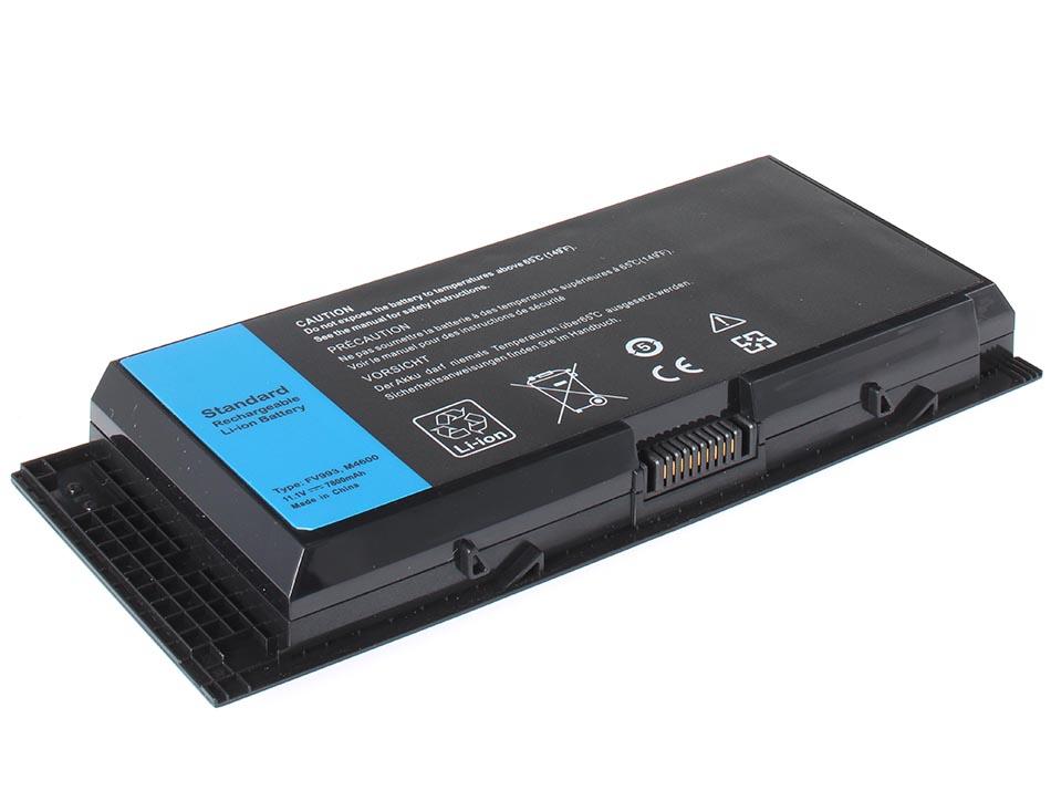 Аккумуляторная батарея iBatt iB-A288H для ноутбука DellЕмкость (mAh): 7800. Напряжение (V): 11,1