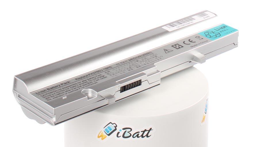 Аккумуляторная батарея iBatt iB-A880 для ноутбука ToshibaЕмкость (mAh): 4400. Напряжение (V): 10,8