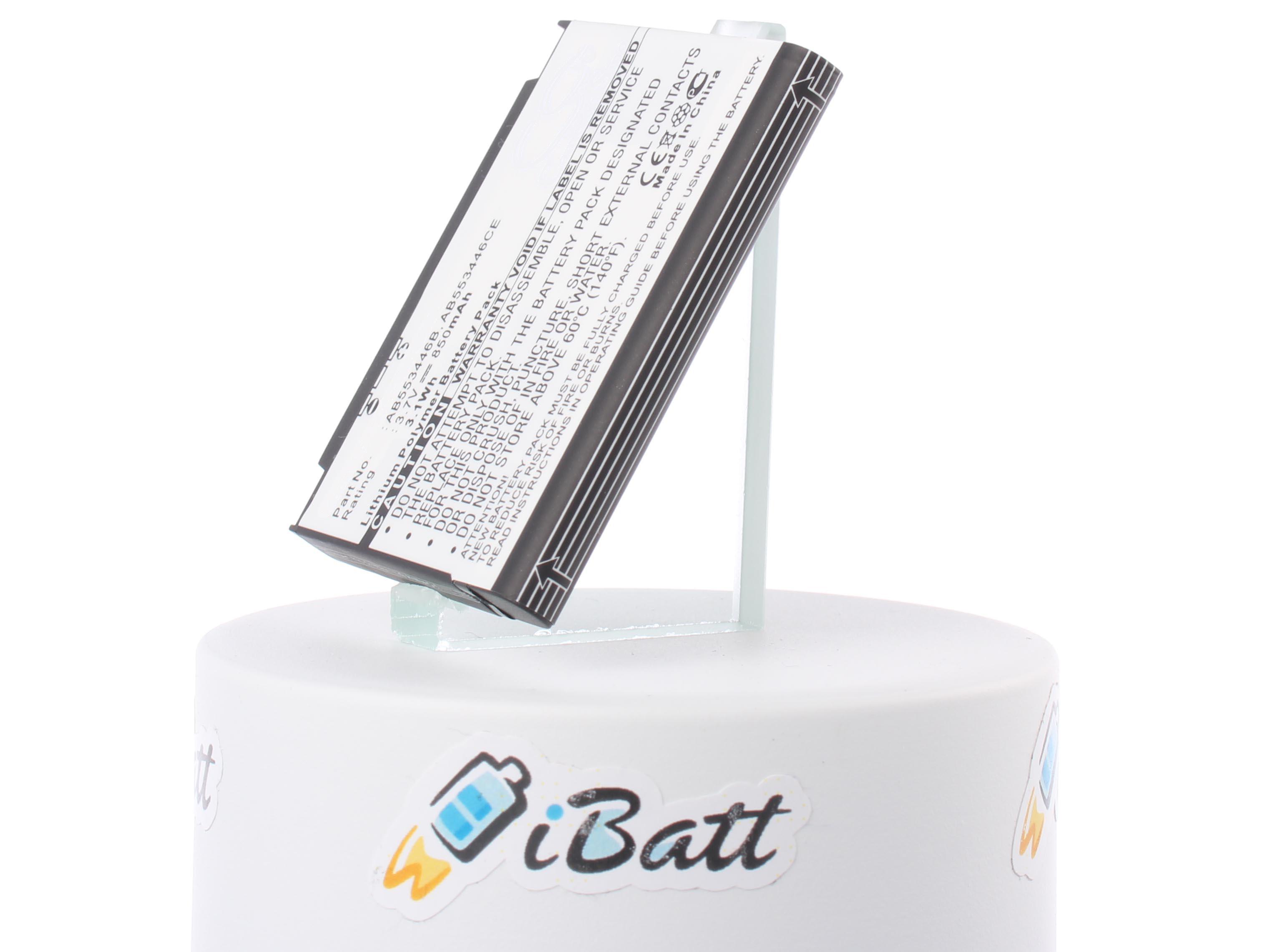 Аккумуляторная батарея для телефона, смартфона Samsung SGH-F480. Артикул iB-M276.Емкость (mAh): 850. Напряжение (V): 3,7