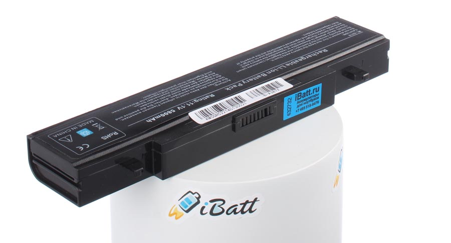 Аккумуляторная батарея AA-PL9NC6B для ноутбуков Samsung. Артикул iB-A387X.Емкость (mAh): 6800. Напряжение (V): 11,1