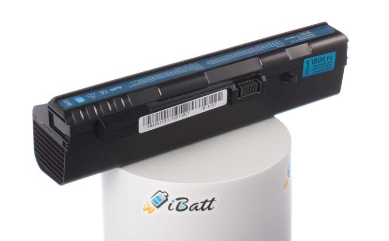 Аккумуляторная батарея UM08B74 для ноутбуков Acer. Артикул iB-A157.Емкость (mAh): 8800. Напряжение (V): 11,1