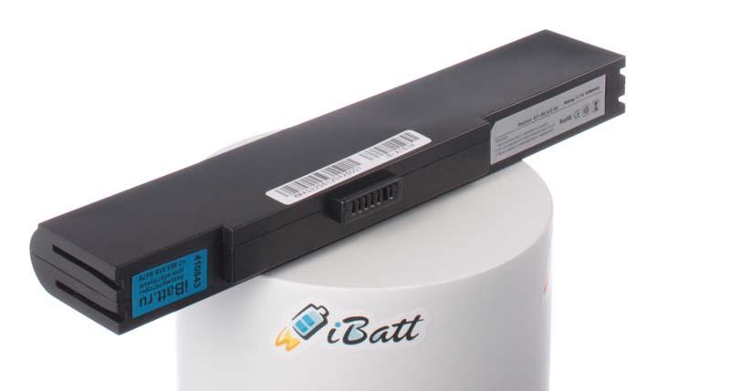 Аккумуляторная батарея для ноутбука Asus S6F. Артикул iB-A167H.Емкость (mAh): 5200. Напряжение (V): 11,1