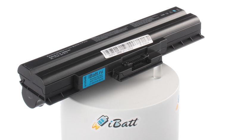 Аккумуляторная батарея iBatt iB-A585H для ноутбука SonyЕмкость (mAh): 7800. Напряжение (V): 11,1