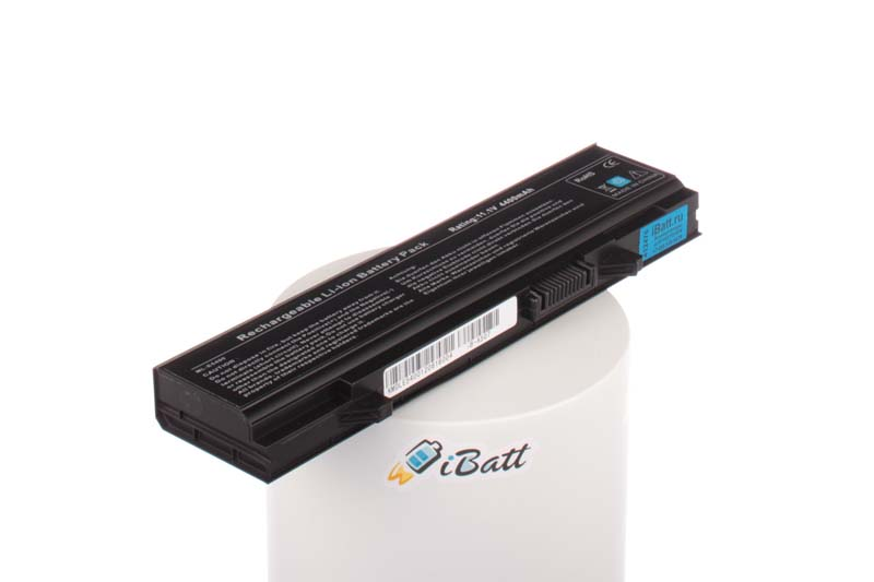 Аккумуляторная батарея MT196 для ноутбуков Dell. Артикул iB-A507.Емкость (mAh): 4400. Напряжение (V): 11,1