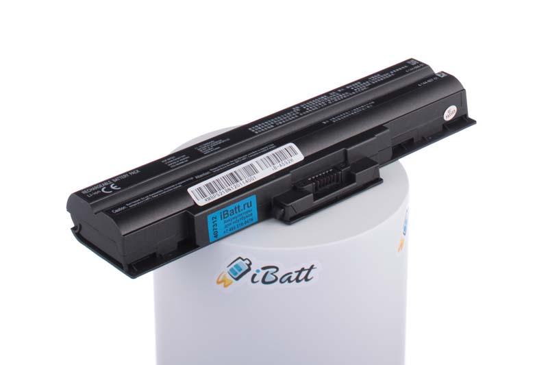 Аккумуляторная батарея iBatt iB-A592H для ноутбука SonyЕмкость (mAh): 5200. Напряжение (V): 11,1