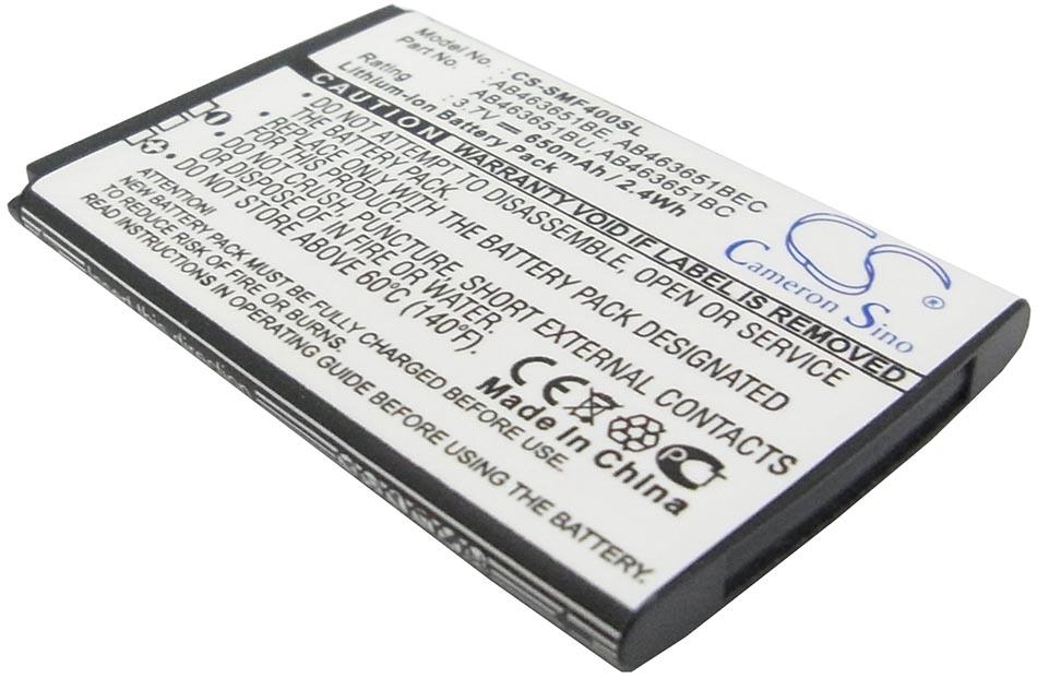 Аккумуляторная батарея для телефона, смартфона Samsung GT-S5610. Артикул iB-M1001.Емкость (mAh): 650. Напряжение (V): 3,7