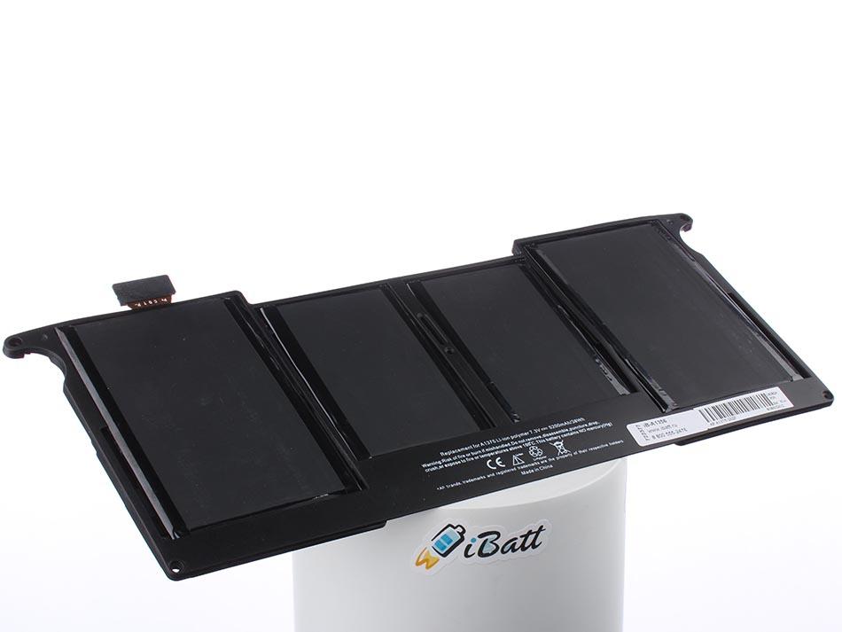 Аккумуляторная батарея iBatt iB-A1356 для ноутбука AppleЕмкость (mAh): 4800. Напряжение (V): 7,3