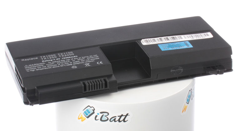 Аккумуляторная батарея для ноутбука HP-Compaq Pavilion tx1204AU. Артикул iB-A284H.Емкость (mAh): 10400. Напряжение (V): 7,4