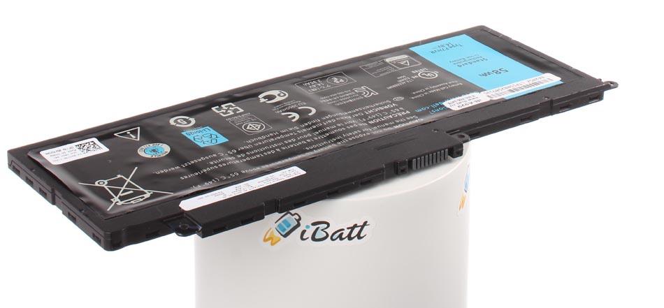 Аккумуляторная батарея F7HVR для ноутбуков Dell. Артикул iB-A929.Емкость (mAh): 3900. Напряжение (V): 14,8