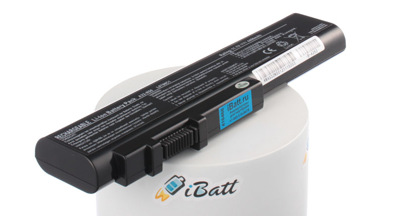 Аккумуляторная батарея для ноутбука Asus N51Tp. Артикул iB-A262.Емкость (mAh): 4400. Напряжение (V): 11,1