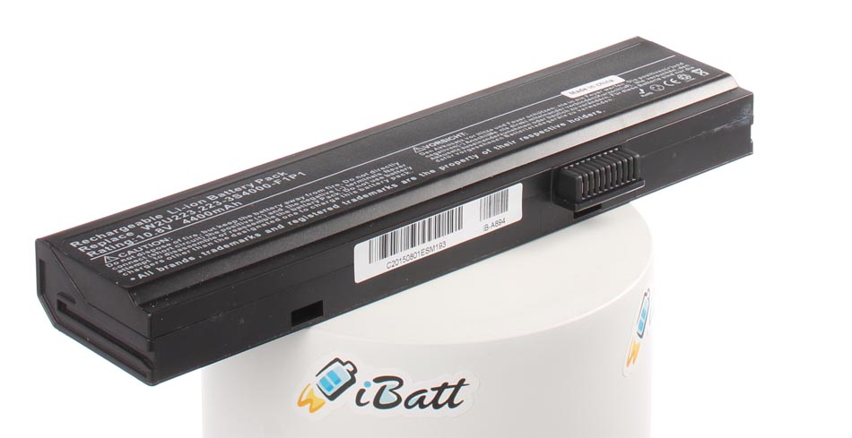 Аккумуляторная батарея 223-3S4000-F1P1 для ноутбуков Uniwill. Артикул iB-A894.Емкость (mAh): 4400. Напряжение (V): 10,8