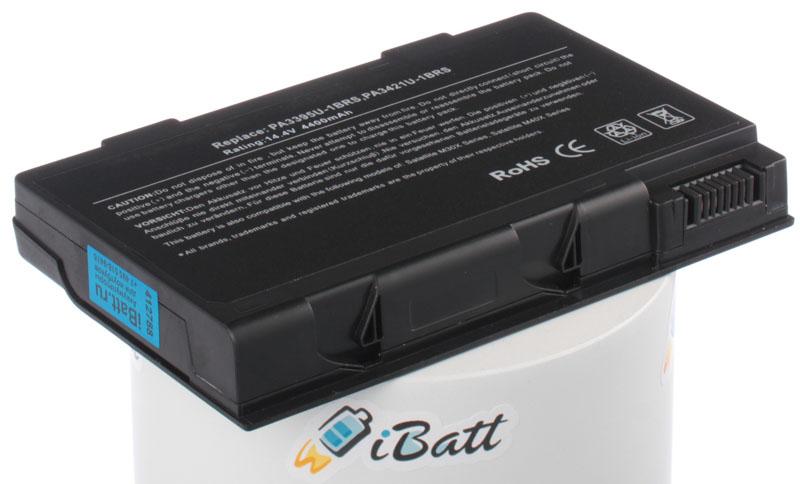 Аккумуляторная батарея PA3395U-1BRS для ноутбуков Toshiba. Артикул iB-A540.Емкость (mAh): 4400. Напряжение (V): 14,4