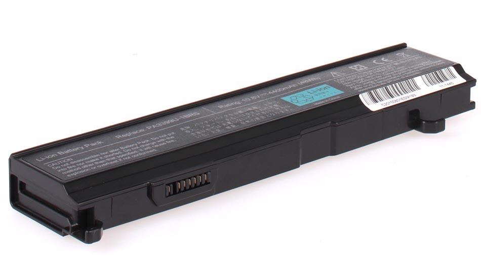 Аккумуляторная батарея для ноутбука Toshiba Equium A100-147. Артикул 11-1445.Емкость (mAh): 4400. Напряжение (V): 10,8