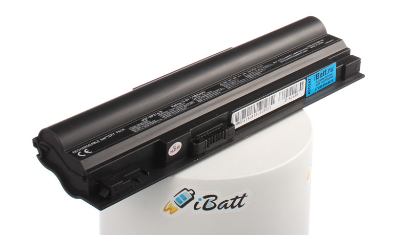 Аккумуляторная батарея VGP-BPL14/B для ноутбуков Sony. Артикул iB-A593H.Емкость (mAh): 5200. Напряжение (V): 11,1