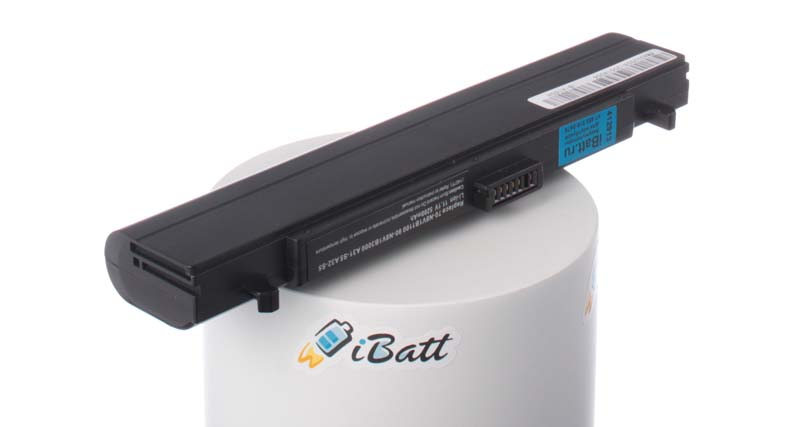 Аккумуляторная батарея для ноутбука Asus W6F. Артикул iB-A165H.Емкость (mAh): 5200. Напряжение (V): 11,1
