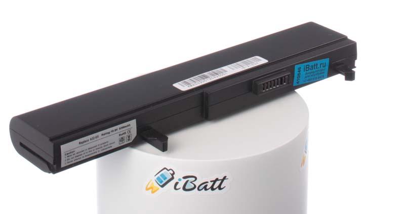 Аккумуляторная батарея iBatt iB-A163H для ноутбука AsusЕмкость (mAh): 5200. Напряжение (V): 10,8