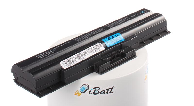 Аккумуляторная батарея iBatt iB-A583X для ноутбука SonyЕмкость (mAh): 5800. Напряжение (V): 11,1
