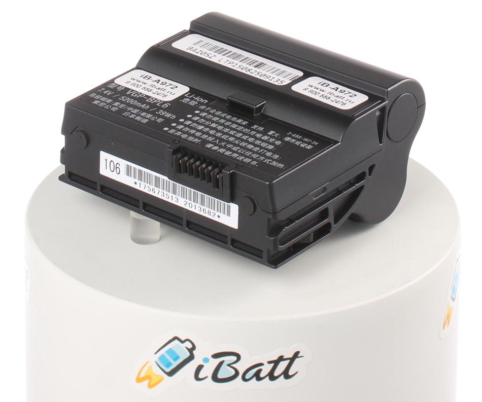 Аккумуляторная батарея VGP-BPL6 для ноутбуков Sony. Артикул iB-A972.Емкость (mAh): 4400. Напряжение (V): 7,4