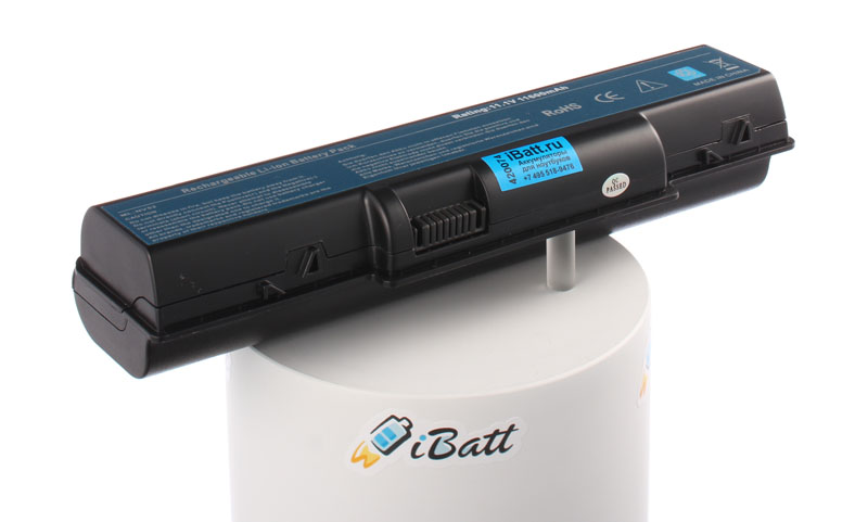 Аккумуляторная батарея для ноутбука eMachines E430. Артикул iB-A280X.Емкость (mAh): 11600. Напряжение (V): 11,1
