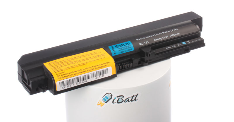 Аккумуляторная батарея 42T5226 для ноутбуков IBM-Lenovo. Артикул iB-A346.Емкость (mAh): 4400. Напряжение (V): 11,1