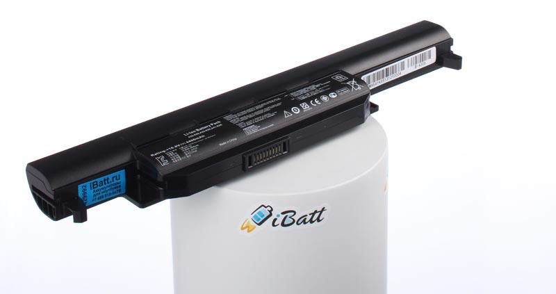 Аккумуляторная батарея A32-K55 для ноутбуков Asus. Артикул iB-A306.Емкость (mAh): 4400. Напряжение (V): 10,8