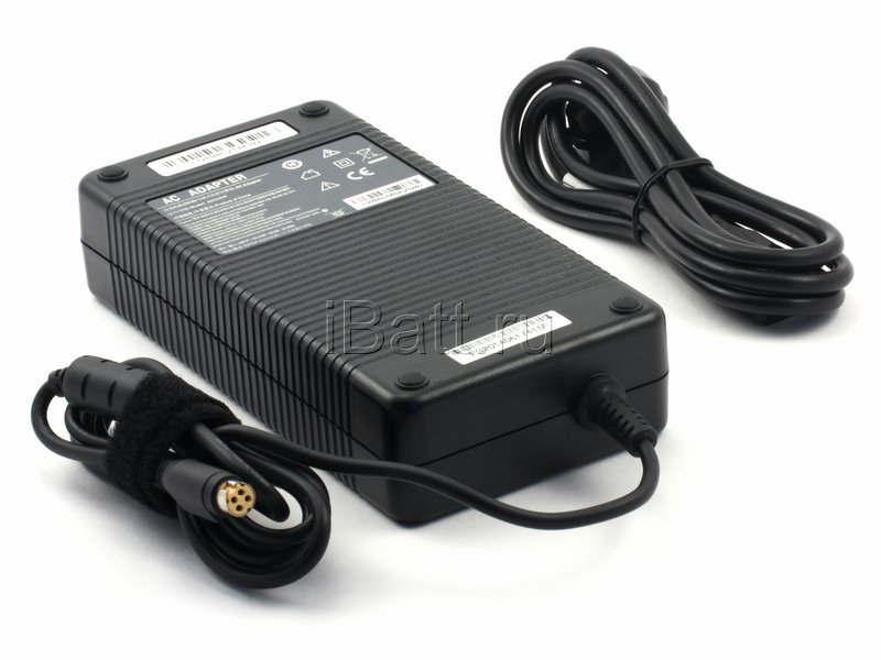 Блок питания (адаптер питания) iBatt iB-R475 для ноутбука  Clevo Напряжение (V): 19,5