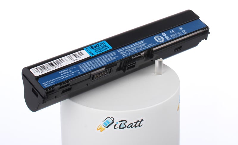 Аккумуляторная батарея для ноутбука Acer Aspire One AO756-877B1bb Gray. Артикул iB-A359.Емкость (mAh): 4400. Напряжение (V): 11,1