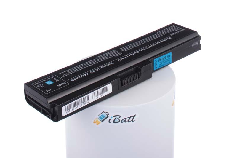Аккумуляторная батарея iBatt iB-A543 для ноутбука ToshibaЕмкость (mAh): 4400. Напряжение (V): 10,8