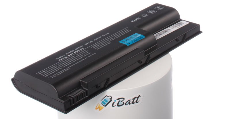 Аккумуляторная батарея для ноутбука HP-Compaq Pavilion dv8130US. Артикул iB-A197.Емкость (mAh): 4400. Напряжение (V): 14,4