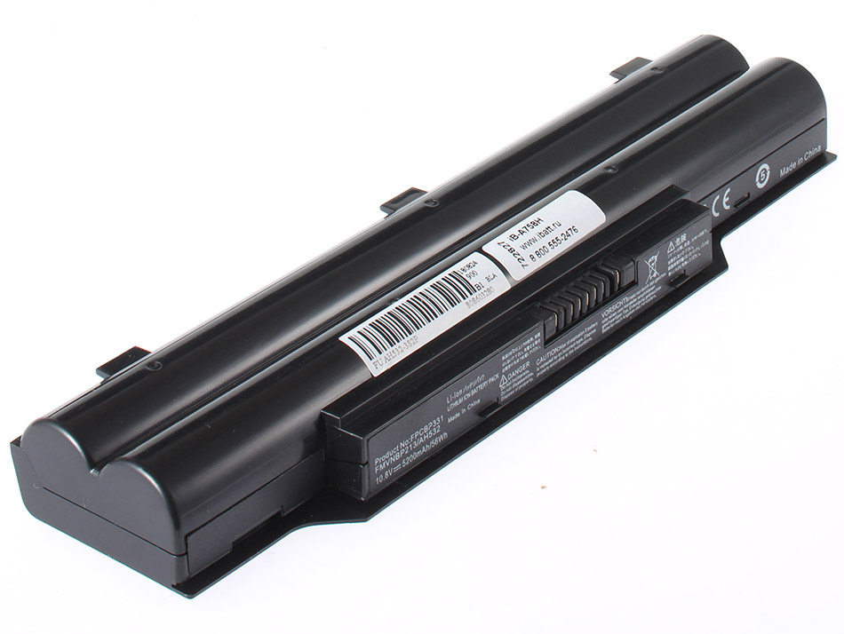 Аккумуляторная батарея FPCBP331 для ноутбуков Fujitsu-Siemens. Артикул iB-A758H.Емкость (mAh): 5200. Напряжение (V): 10,8