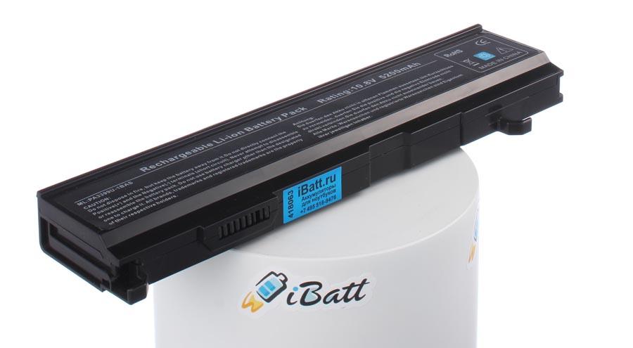 Аккумуляторная батарея PA3451U-1BAS для ноутбуков Toshiba. Артикул iB-A450H.Емкость (mAh): 5200. Напряжение (V): 10,8