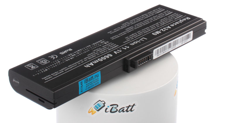 Аккумуляторная батарея 90-NDQ1B1000 для ноутбуков Asus. Артикул iB-A237.Емкость (mAh): 6600. Напряжение (V): 11,1