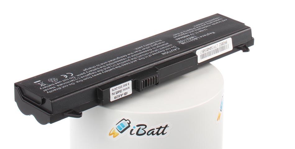 Аккумуляторная батарея iBatt iB-A828 для ноутбука LGЕмкость (mAh): 4400. Напряжение (V): 11,1