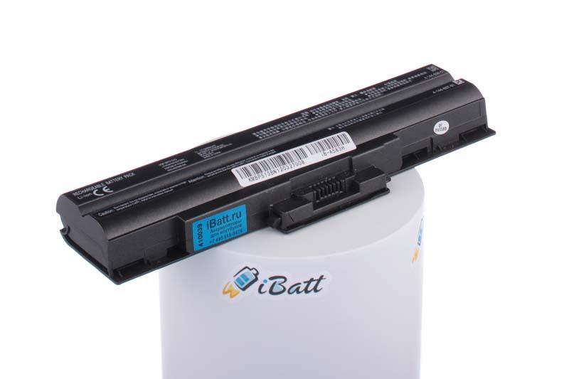 Аккумуляторная батарея iBatt iB-A583H для ноутбука SonyЕмкость (mAh): 5200. Напряжение (V): 11,1