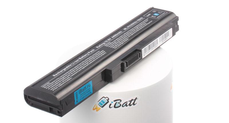 Аккумуляторная батарея iBatt iB-A459 для ноутбука ToshibaЕмкость (mAh): 4400. Напряжение (V): 10,8