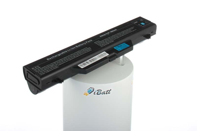 Аккумуляторная батарея для ноутбука HP-Compaq ProBook 4710s (VC435EA). Артикул iB-A522H.Емкость (mAh): 7800. Напряжение (V): 14,8