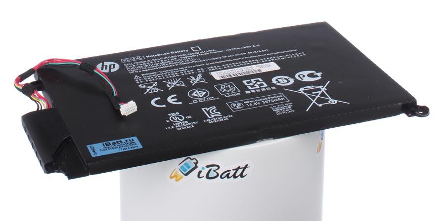 Аккумуляторная батарея iBatt iB-A615 для ноутбука HP-CompaqЕмкость (mAh): 3400. Напряжение (V): 14,8