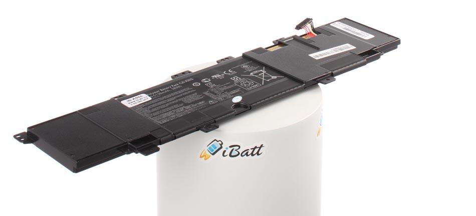 Аккумуляторная батарея iBatt iB-A666 для ноутбука AsusЕмкость (mAh): 4000. Напряжение (V): 7,4