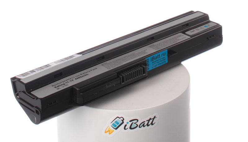 Аккумуляторная батарея 957-N0XXXP-103 для ноутбуков MSI. Артикул iB-A388.Емкость (mAh): 4400. Напряжение (V): 11,1