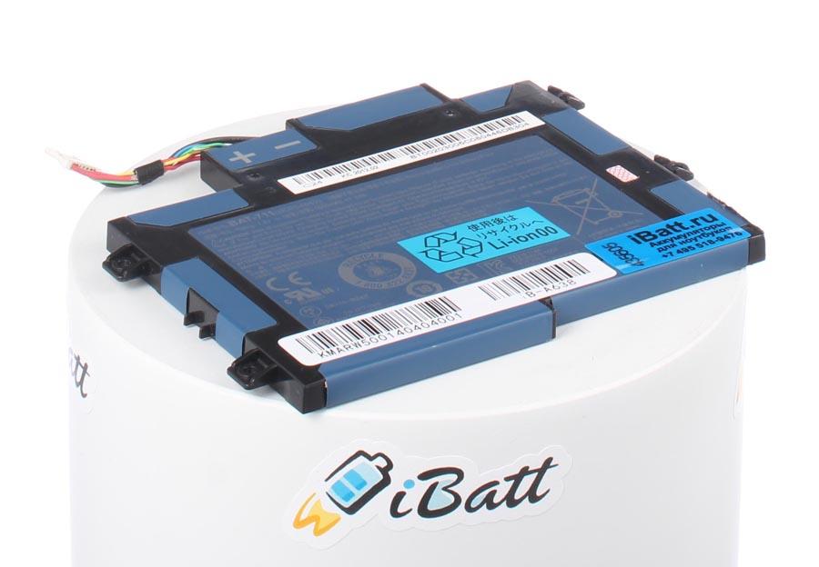 Аккумуляторная батарея для ноутбука Acer Iconia Tab A101. Артикул iB-A638.Емкость (mAh): 1500. Напряжение (V): 7,4