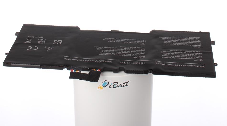 Аккумуляторная батарея iBatt iB-A744 для ноутбука DellЕмкость (mAh): 6300. Напряжение (V): 7,4
