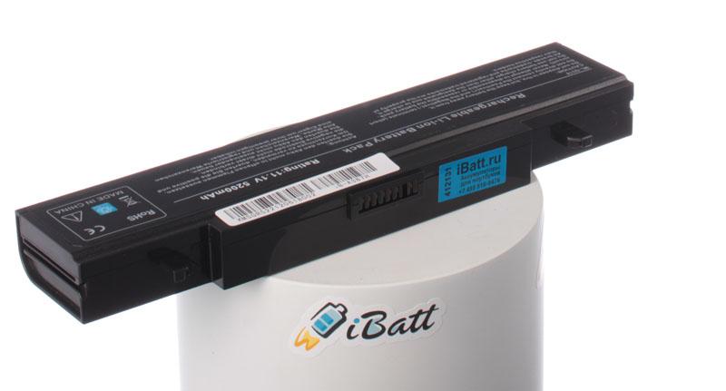 Аккумуляторная батарея iBatt iB-A387H для ноутбука SamsungЕмкость (mAh): 5200. Напряжение (V): 11,1